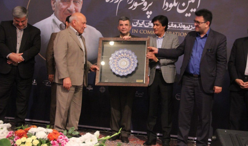 Commemoration ceremony of Professor Qavam zadeh father of bone marrow transplantation was held in ARAK